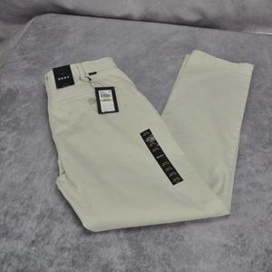 DKNY Mens Relaxed Slim Fit Tapered Leg Pants Size